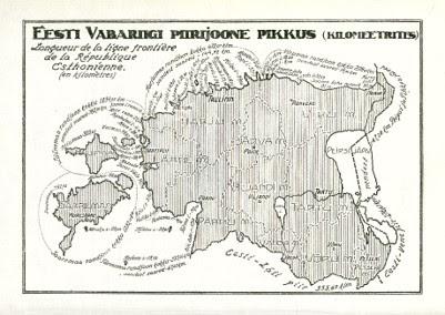eesti kaart aastal 1922
